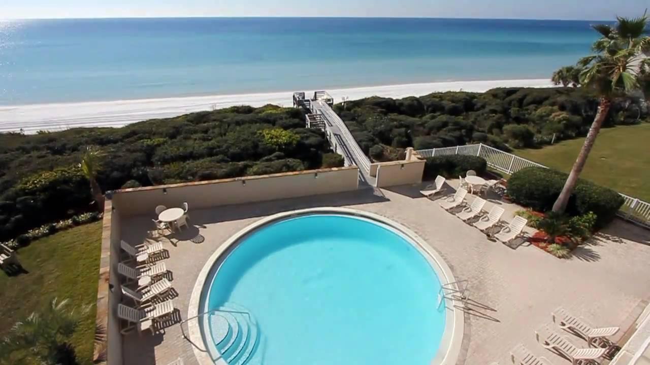 Seagrove Beach Florida 2br Gulf Front Vacation Al Condo 401 Beachcrest You