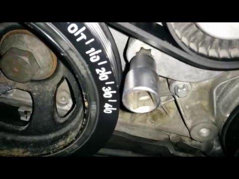 2003 silverado brake diagram mb m271 cambiar la correa de accesorios youtube  mb m271 cambiar la correa de accesorios youtube