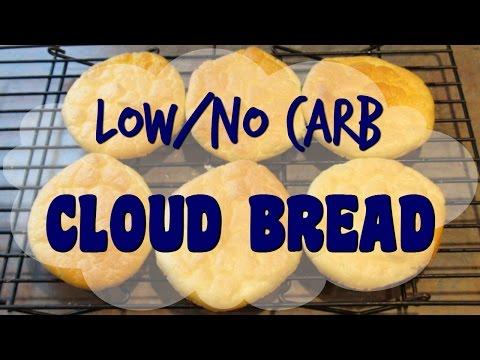CLOUD BREAD Tutorial - Low Carb Bread Alternative - Gluten Free