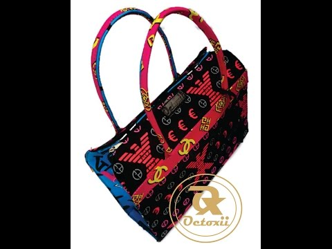 MAKING  LOUIS VUITTON  ANKARA BAG (D I Y)
