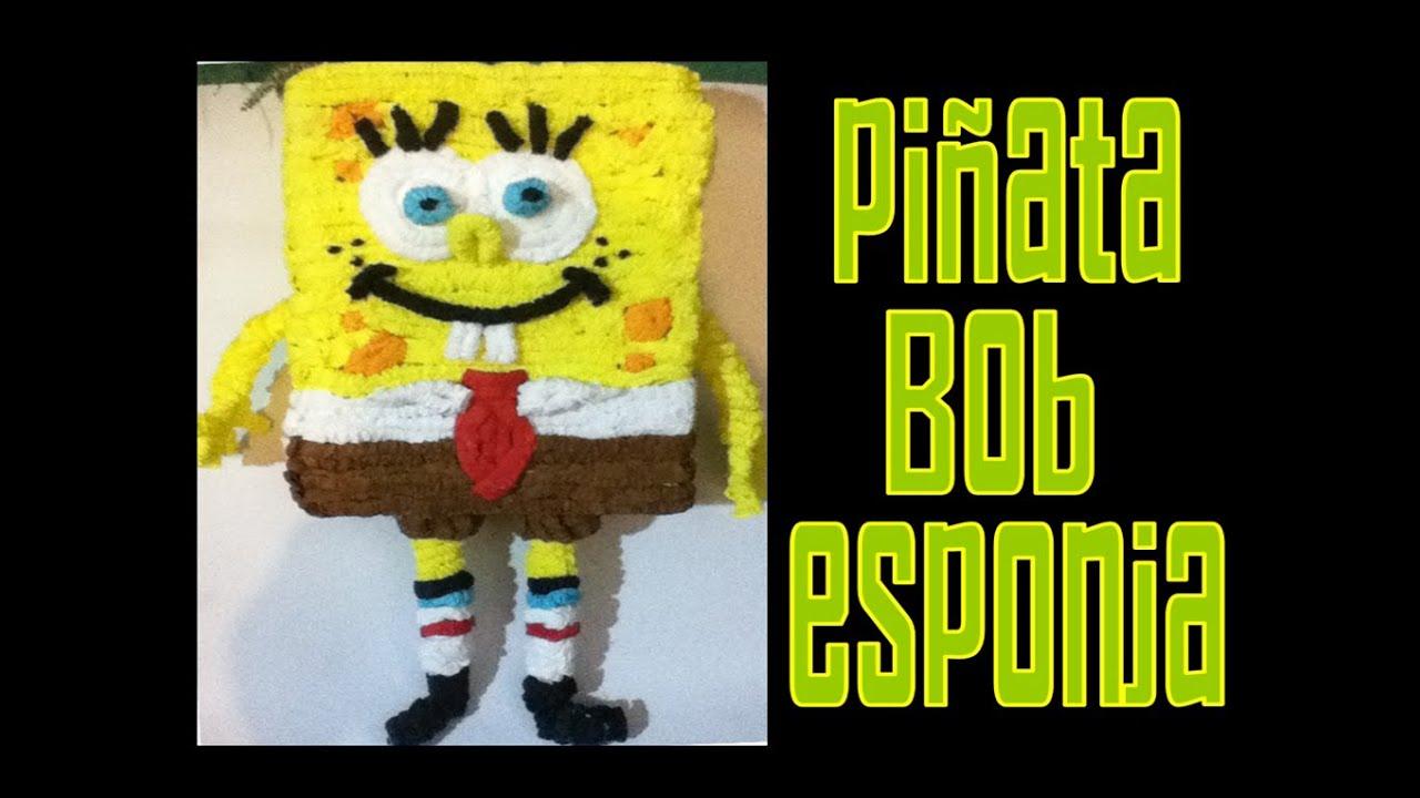 Piñata De Bob Esponja Spongebob