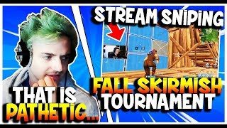 NINJA REACTS TO FAZE NATE HILL CHEATING DURING FORTNITE TOURNAMENT