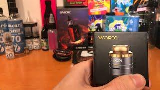 Jak namotat Atomizér elektronické cigarety ( Demon VooPoo )