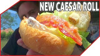 New Caesar Roll at Red Rooster Review - Australia's First Review - HAIL CAESAR