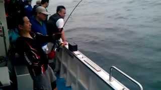 2012年鉅隆號紅甘潘大哥釣獲基隆阿賢錄影