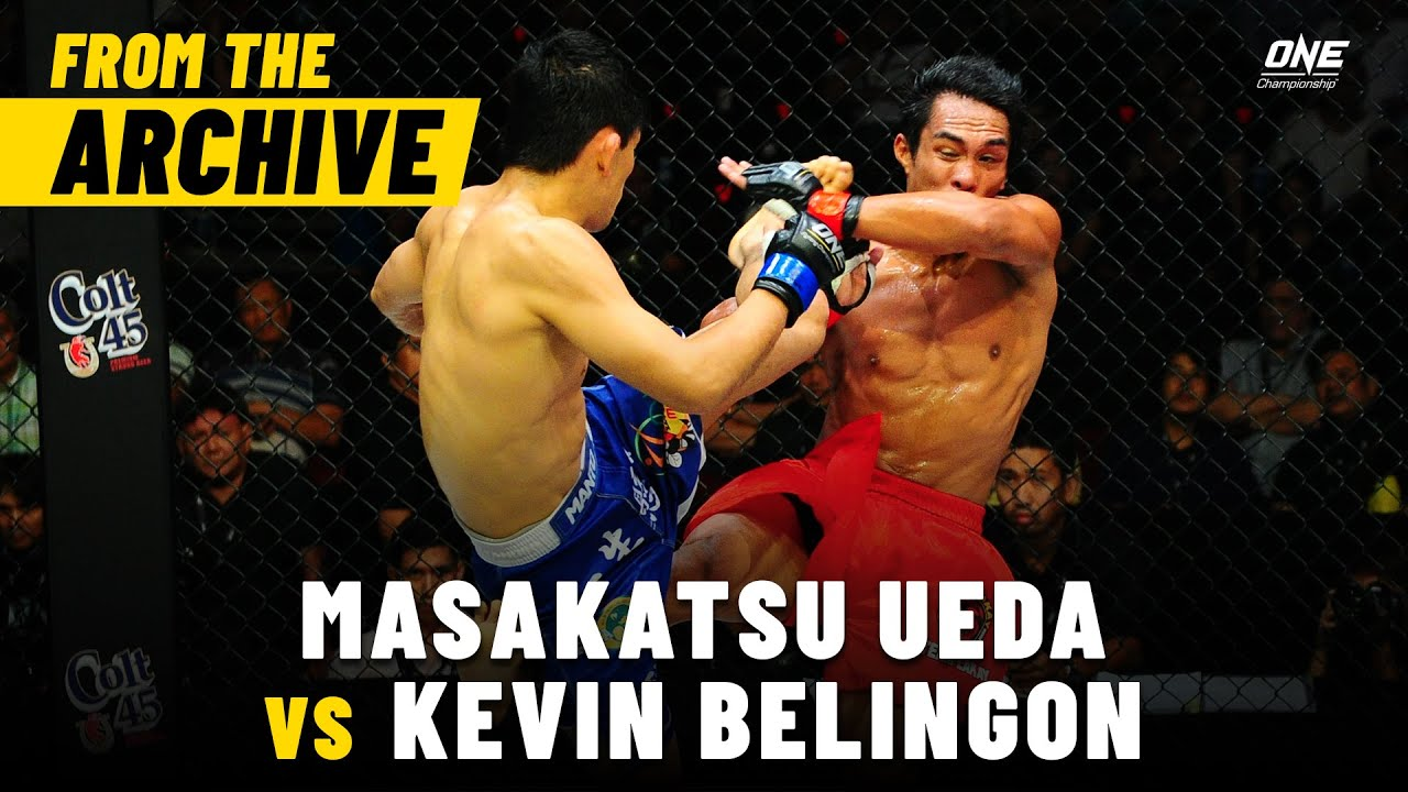 Masakatsu Ueda vs. Kevin Belingon | ONE Championship Full Fight | May 2013