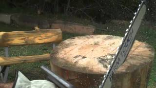 How to Make a Picnic Table Part 1 of 3 by Artisan Mitchell Dillman