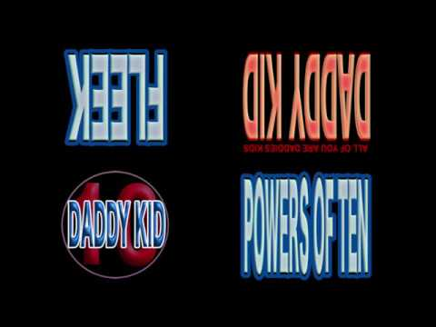 Daddy Kid Powers of Ten Compilation On Apple Music iTunes and Amazon! Releases New Years Day!