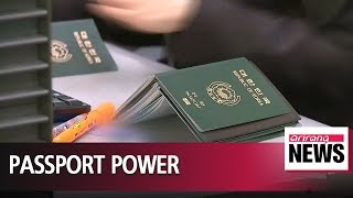 S. Koreans have world's third most powerful passport: Henley & Partners