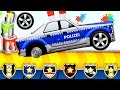 Car Factory - Builds Car | CAR WASH | Videos for kids | Videos For Children | Police Car for Kids