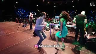 Pavel Klimenko and Tuli Mar Salsa Dancing at Berlin Salsacongress 2018, Sunday 07.10.2018