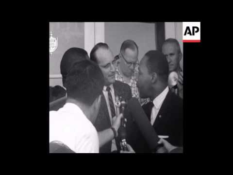 CAN236 REVEREND MARTIN LUTHER KING ARRESTED IN FLORIDA