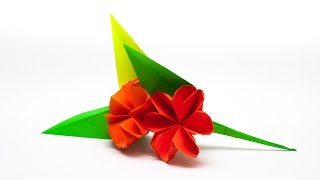 Repeat youtube video วิธีพับกระดาษเป็นช่อดอกไม้ติดอกเสื้อ Origami Wedding Chest Flower