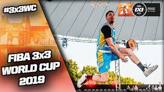 Dunk Contest Final 2019 | Highlights | FIBA 3x3 World Cup 2019 Video