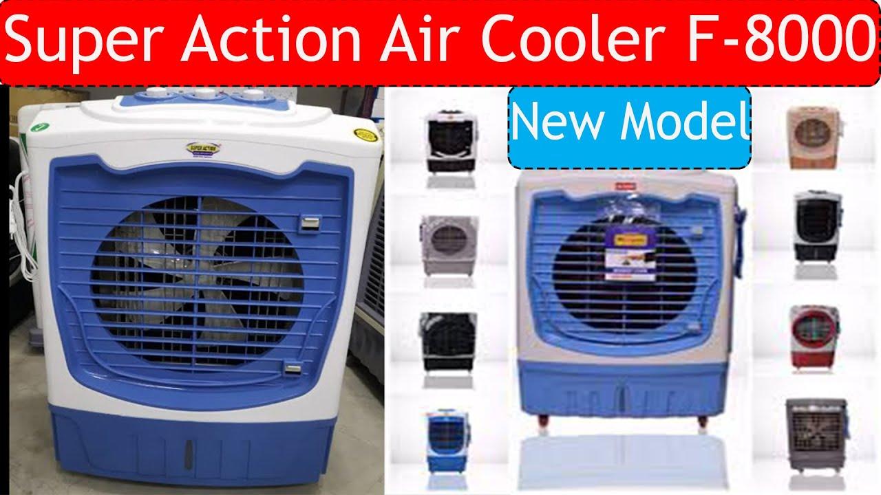 Super Action Air Cooler F-8000 + 3 Speed-Heavy Duty Fan Motor Unbox&Price In Pakistan