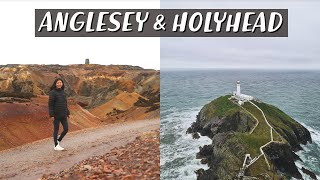 Rainy Days Living in a Campervan, What To Do? | Anglesey & Holyhead Island | Van Life Wales Part 2