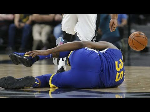 Kevin Durant OUT OF Playoffs Due To Ankle Injury?!
