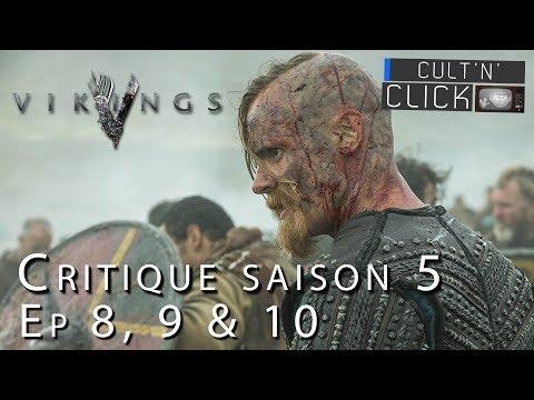 VIKINGS Saison 5 : Critique et analyse des épisodes 8-9-10