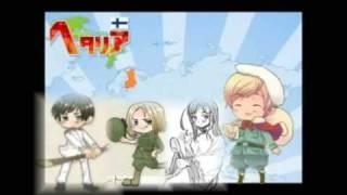 [APH] Maru kaite chikyuu a mix of the world [Hetalia]