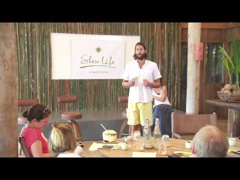 """2013 SLOW LIFE Symposium - David de Rothschild discussing """"Ocean Dimensions"""""""