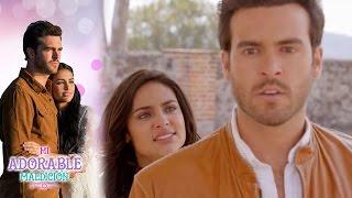 ¡Aurora corre a Rodrigo de su vida! | Mi adorable maldición - Televisa