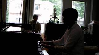 Bach Goldberg Variations BWV 988 -Variatio 21. Canone alla Settima. a 1 Clav.