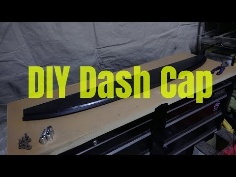 How To Make A Dash Cap For Your Datsun 521, Out Of Wood?