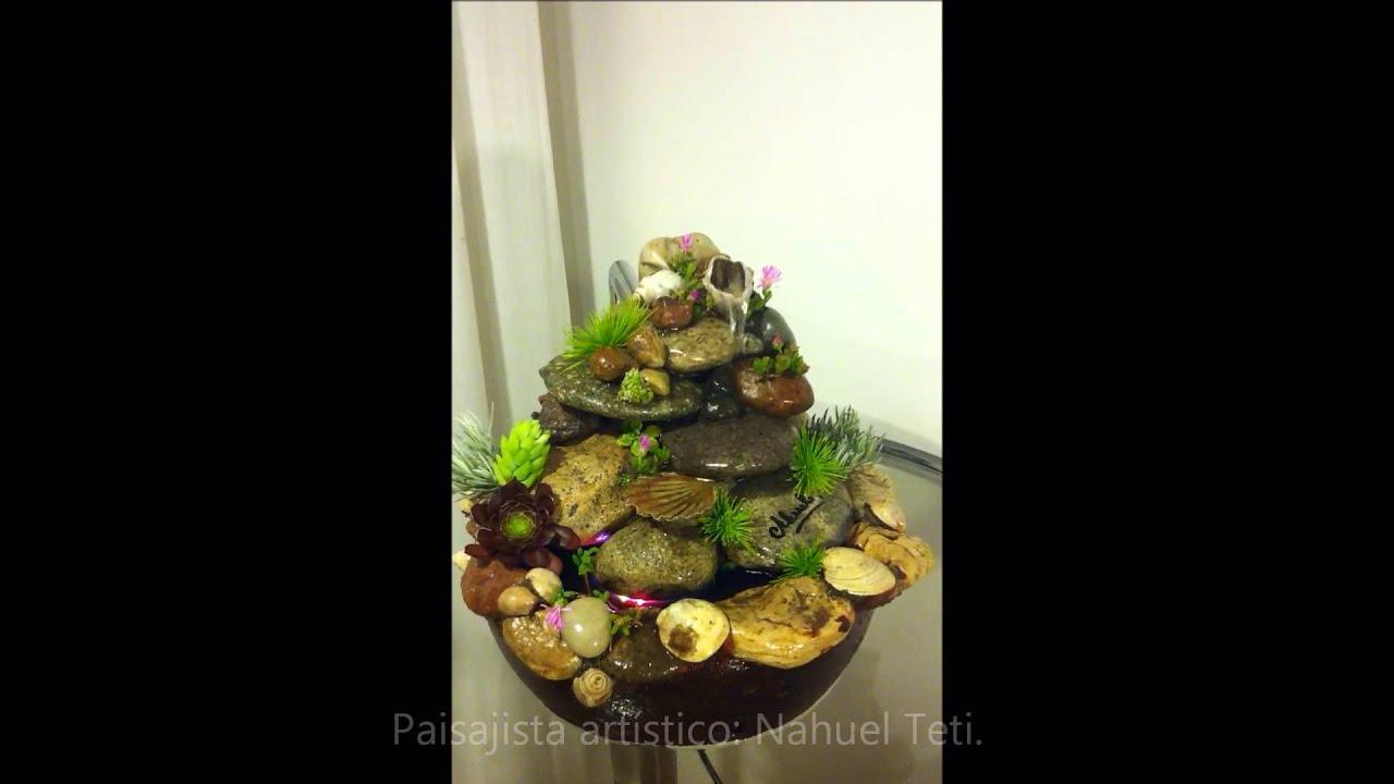 Fuente feng shui con ostras y caracoles akuel youtube for Fuentes de cascada en pared