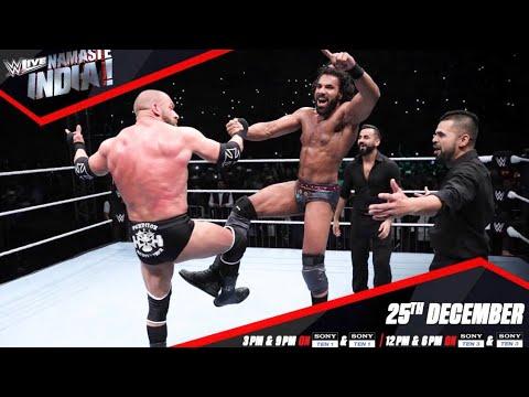 WWE Namaste India | Full Episode HD | WWE LIVE INDIA 2017 | Sony Ten 1HD | 25th December 2017
