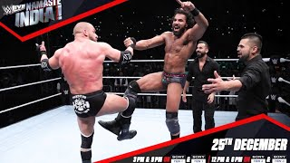 WWE Namaste India | Full Episode HD | WWE LIVE INDIA 2017 | Sony Ten 1HD | 25th December 2017