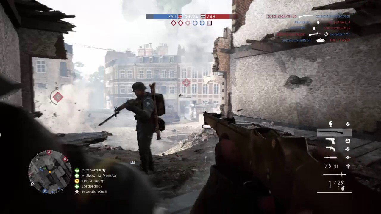 Amazing Battlefield 1 Hip Shot