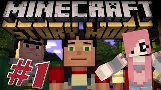 КВАДРАТНАЯ ИСТОРИЯ - Minecraft: Story Mode (Серия 1)