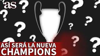 CHAMPIONS LEAGUE | La UEFA contrataca a la SUPERLIGA: así será la nueva CHAMPIONS desde 2024 | AS