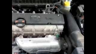 Skoda Fabia звук при запуске двигателя (решено)