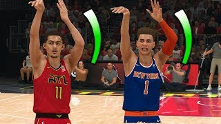 NBA 2K20 LaMelo Ball My Career Ep. 5 - In-Game Three Point Contest vs Trae Young!