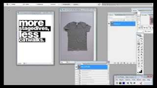 Tutorial - T-Shirt Vorlage in Photoshop erstellen