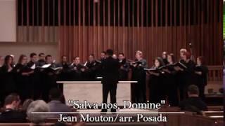 """Salva nos, Domine""-Jean Mouton/arr. Posada"
