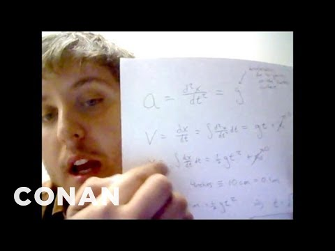 Fan Correction: You're Breaking The Laws of Physics! - CONAN on TBS