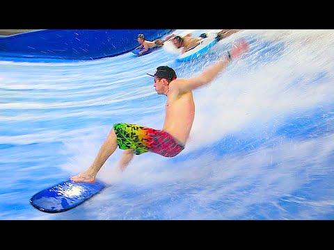 INDOOR SURF WAVE!