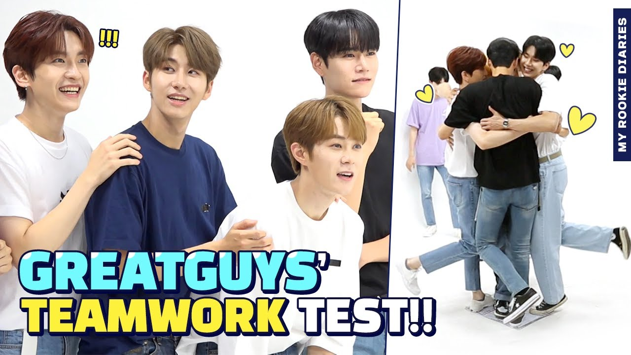 [Pops in Seoul] ☆MY ROOKIE DIARIES☆ sexy and sweet🍭 'GreatGuys(멋진녀석들)' Edition!