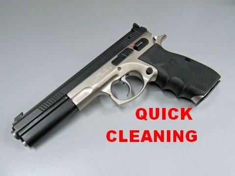 ČESKÁ ZBROJOVKA CZ 75 SPORT II OR CZ 75 SPORT 2 - QUICK CLEANING