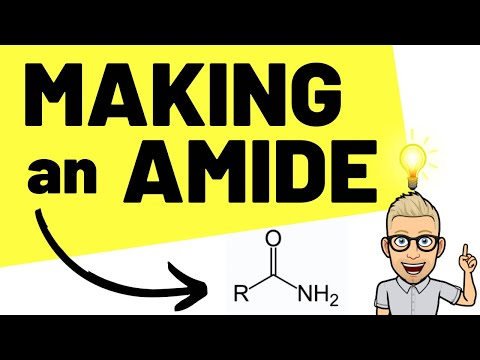 A2 6.2.5 - multi step organic synthesis of an amide