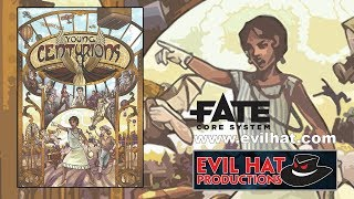 Game Geeks #294 Young Centurions for the FATE core system by Evil Hat Productions