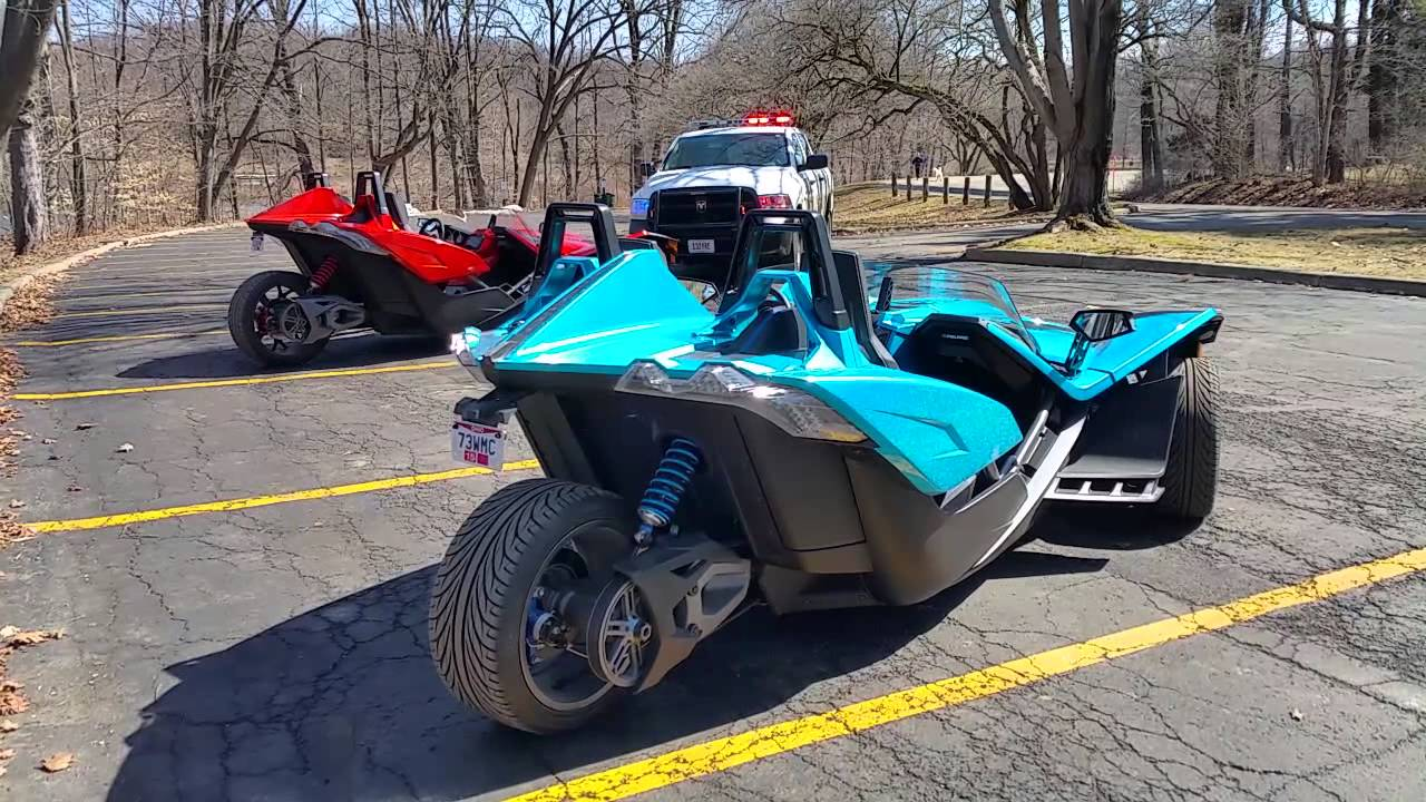 polaris slingshot and the cops youtube. Black Bedroom Furniture Sets. Home Design Ideas