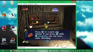 the legend of zelda parte 1:espada kokiri y escudo