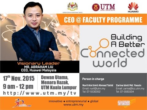 CEO Faculty Programme : Building A Better Connected World