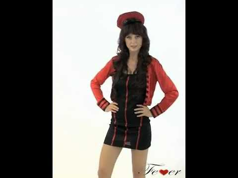 21039 Fever Military Popstar Costume Video