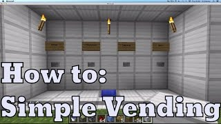 Video Simple Vending Machine (Easy Redstone) download MP3, 3GP, MP4, WEBM, AVI, FLV Desember 2017
