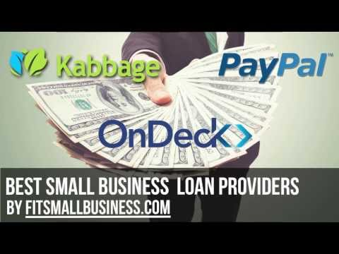 Small Business Loan Providers: Who's The Best?