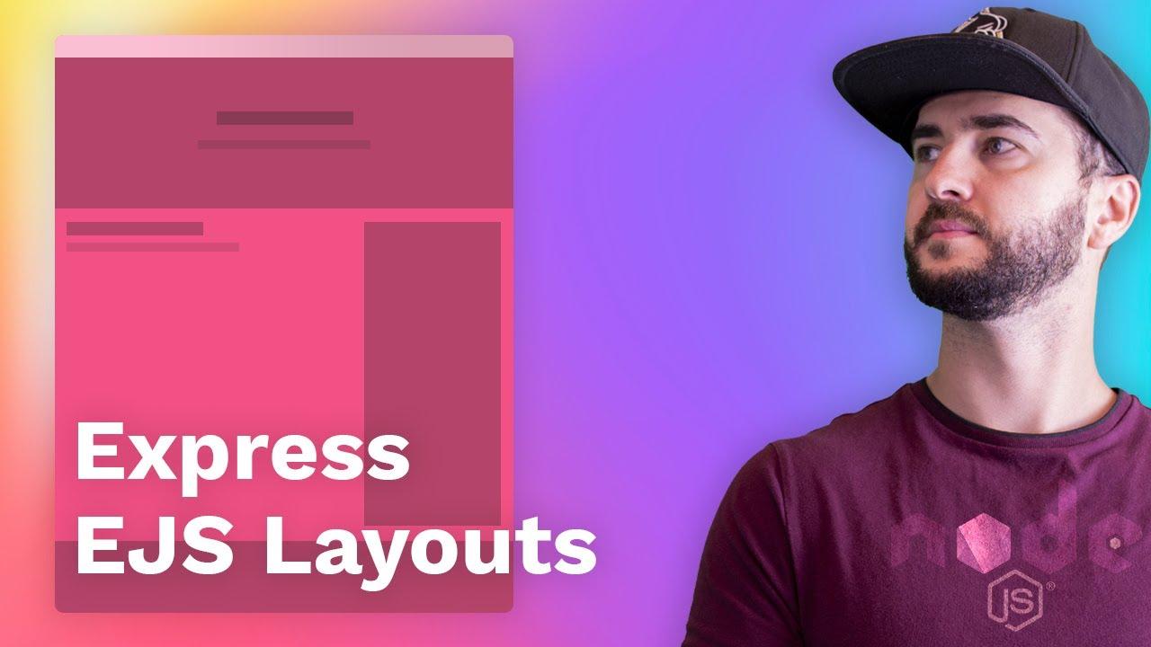 Node.js Express EJS Layouts and Partials Tutorial